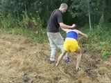 Skinny Teen Gets Fucked In the Forest Fuck Fantasy