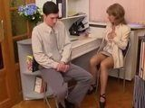 Inexperienced Shy Boy Gets Seduced and Fucked By Slutty Milf Doctor