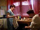 Granny Fucks Depressed Boy In Kitchen