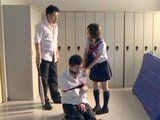 Schoolgirl Has No Other Option But To Fuck With Abusive Guy In Order To Pay Off Brothers Due
