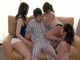 House Maids Just Waited For a Chance To Be Left Alone With Their Bosses Son To Play With