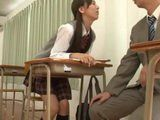 Japanese Schoolgirl Provoking Her Teacher Gets What She Deserved