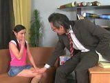 Shy Teen Schoolgirl Gets Amazed With Pervert Teachers Proposal