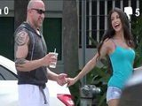 Latina Pornstar Veronica Rodriguez Picking Up From Street Stranger To Film A Real Porn Scene With Her