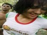 Brazilian Teen Fucked In Forest By Her Classmate