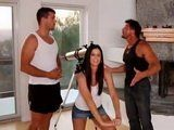 Alluring Milf Knows How To Satisfied Two Horny Studs