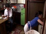 Mother In Law Ikuina Sayuri Gets Swooped In the Kitchen By Her Son In Law