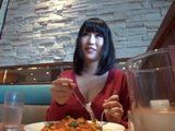 Japanese Hottie With Perfect Tits Gets Picked Up In A Restaurant And Fucked In A Hotel Room