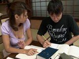 Private Teacher Airi Tachibana Heals Her Students Boner To Recover His Studying Concentration