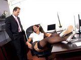 Sexy Secretary Brings Sexual Delights