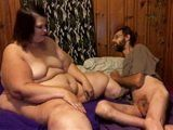 Thin Man Fuck Fat Bitch And Cum In Her Wet Pussy