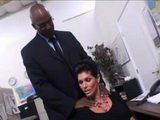 Milf Office Lady Got Neck Massage And Multiple Orgasms From Black CEO