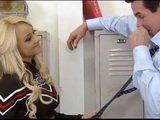 Hot Cheerleader Wanna Be A Lead Girl In A Team And Found Great Way To Convince Coach That She Is The One