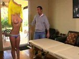 Hot Blond Milf Gets Roughly Fucked By Her Private Masseur