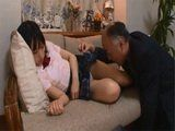 Poor Schoolgirl Ami Kumo Gets Abused By Her Pervert Stepdad