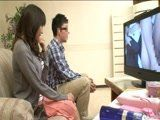 Japanese Boy Felt Embarrassed When Stepmom Forced Him To Watch Porn With Her