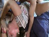Naughty Wife Has Always Dreamed To Have Sex With Husband And His Friend At Same Time
