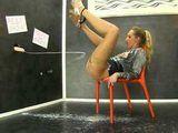 Horny Blonde Loves Huge Load All Over Her Body
