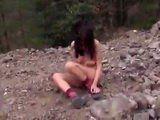 Poor Teen Regrets For Taking Mountain Walk