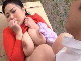 Busty Japanese MIlf Gets Fucked Outdoors By Her Real Estate Agent While Checking On A Cottage She Wanted To Buy
