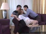 Nasty Stepson Rough Fucked His Stepmom With His Horny Friend  Yumi Kazama