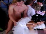 Wedding Party Turns Into Hard Orgy