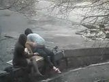 Chick Caught Fucking A Random Guy In A Public Park While Her Friend Is Keeping Her Company