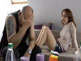 Redhead Teen Knows How To Cheer Up Her Dissapointed Stepfather
