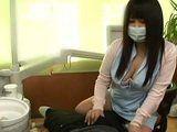 Stunning Hot Dentist Jerking Cock To Her Patient