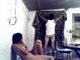 Latino American Married Couple Fucks at Their Humble Home