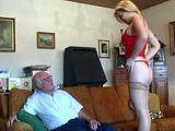 Grandpas pumpkin goes wild over his meat