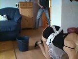 Mature Blond Maid Gets Anally Assaulted By Young Boss