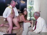 Cuckold Husband Loves To Watch His Young Wife Getting Fucked By His Best Friend