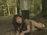Poor Woman Crawling On A Dirt Trying To Escape Of Crazy Kidnapper But Drug Was Too Powerful