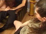 Mature Mom Fucked by Son in Law while her Daughter Masturbate