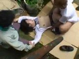 Kidnapped Terrified Screaming Teen Gets Brutally Gangbanged By Her Kidnappers