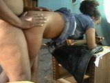 Amateur Ebony Real Prostitute Fucked and Creampied In a Warehouse