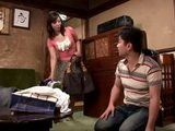 Milf Housekeeper Ikuina Sayuri Gets Swooped and Fucked By Horny Boy