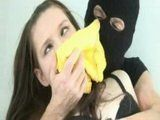 Home Alone Sexy Brunette Chloroformed And Fucked By Robber