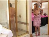 Cock Hungry Friends Hot MILF Mom Sneaks In While I Was Showering