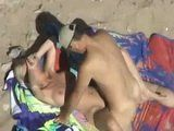 Voyeur Caught Horny Couple Fucking At The Beach