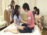 Experienced Milf Mother Teaching Japanese Kids All They Need To Know About Sex
