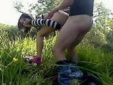 Adorable Amateur Teen Fucking In Nature