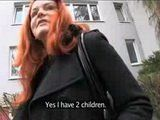 Amateur Married Redhead Milf Accepts Money Offer For Anal Sex in the Cellar