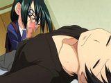 Hentai boy gets sucked cock while sleeping