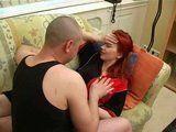 Stepson Helps Redhead Stepmom With Headache Feel Ok Again