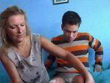 Shy Teenage Boy Gets Sex Lesson From His Stepmom