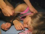 Boy Abuses His Older Brothers Girlfriend While Wasted In Bed