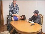 Captured Spy Girl Fucked By Enemy Officers