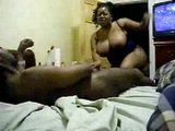 Amateur Black BBW Wife Gets Fucked